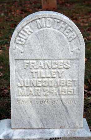 TILLEY, FRANCES - Searcy County, Arkansas   FRANCES TILLEY - Arkansas Gravestone Photos