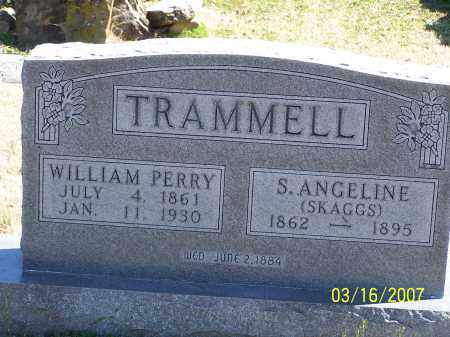 SKAGGS TRAMMELL, S. ANGELINE - Searcy County, Arkansas | S. ANGELINE SKAGGS TRAMMELL - Arkansas Gravestone Photos