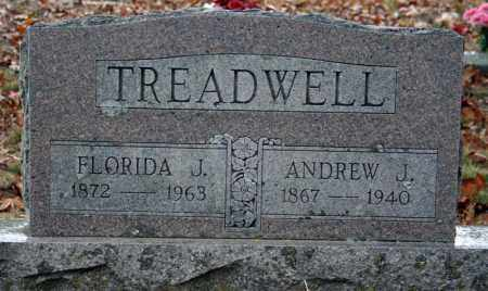 TREADWELL, FLORIDA J. - Searcy County, Arkansas | FLORIDA J. TREADWELL - Arkansas Gravestone Photos