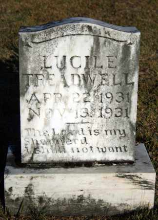 TREADWELL, LUCILE - Searcy County, Arkansas | LUCILE TREADWELL - Arkansas Gravestone Photos