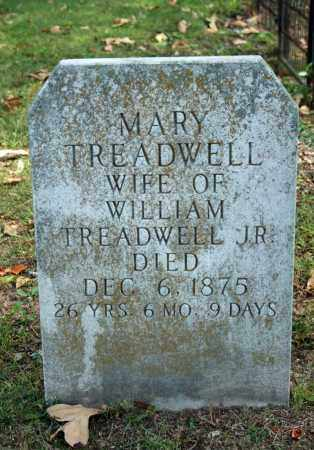 TREADWELL, MARY - Searcy County, Arkansas | MARY TREADWELL - Arkansas Gravestone Photos