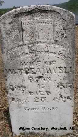 TREADWELL, MALINDA - Searcy County, Arkansas   MALINDA TREADWELL - Arkansas Gravestone Photos
