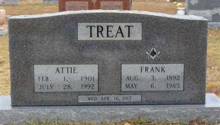 TREAT, ATTIE - Searcy County, Arkansas | ATTIE TREAT - Arkansas Gravestone Photos