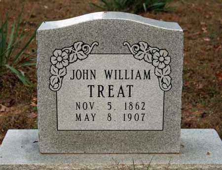 TREAT, JOHN WILLIAM - Searcy County, Arkansas   JOHN WILLIAM TREAT - Arkansas Gravestone Photos