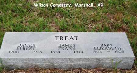TREAT, JAMES FRANK - Searcy County, Arkansas | JAMES FRANK TREAT - Arkansas Gravestone Photos