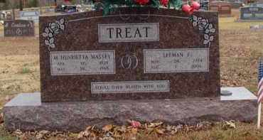 TREAT, LEEMAN - Searcy County, Arkansas | LEEMAN TREAT - Arkansas Gravestone Photos