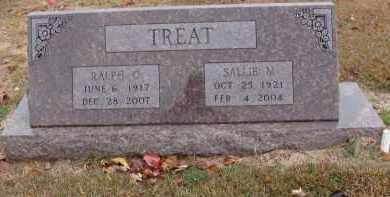 BERGBOWER TREAT, SALLIE - Searcy County, Arkansas | SALLIE BERGBOWER TREAT - Arkansas Gravestone Photos