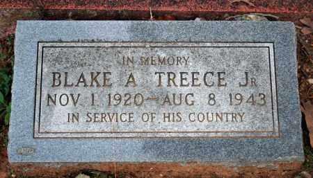TREECE (VETERAN WWII, KIA), BLAKE A - Searcy County, Arkansas | BLAKE A TREECE (VETERAN WWII, KIA) - Arkansas Gravestone Photos