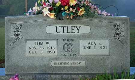 UTLEY, TOM W. - Searcy County, Arkansas | TOM W. UTLEY - Arkansas Gravestone Photos