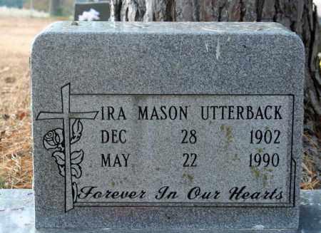 UTTERBACK, IRA - Searcy County, Arkansas | IRA UTTERBACK - Arkansas Gravestone Photos