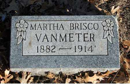 BRISCO VANMETER, MARTHA - Searcy County, Arkansas | MARTHA BRISCO VANMETER - Arkansas Gravestone Photos