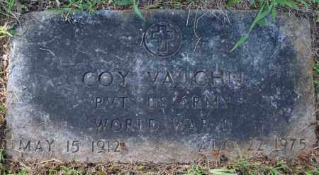VAUGHN (VETERAN WWII), COY - Searcy County, Arkansas | COY VAUGHN (VETERAN WWII) - Arkansas Gravestone Photos