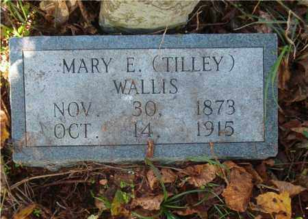 WALLIS, MARY E - Searcy County, Arkansas | MARY E WALLIS - Arkansas Gravestone Photos