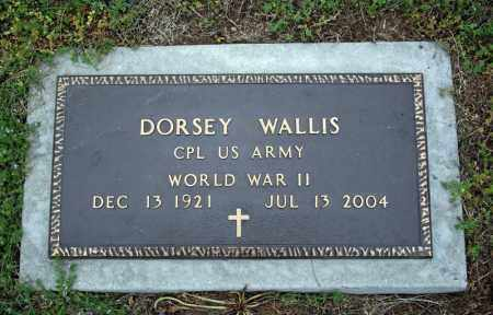 WALLIS (VETERAN WWII), DORSEY - Searcy County, Arkansas   DORSEY WALLIS (VETERAN WWII) - Arkansas Gravestone Photos