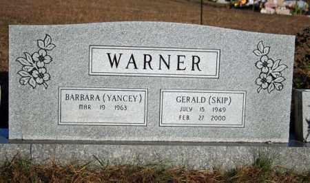 YANCEY WARNER, BARBARA - Searcy County, Arkansas | BARBARA YANCEY WARNER - Arkansas Gravestone Photos