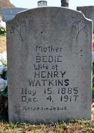 WATKINS, BEDIE - Searcy County, Arkansas | BEDIE WATKINS - Arkansas Gravestone Photos