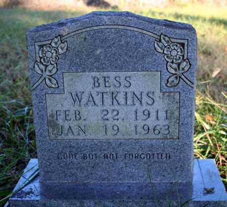 WATKINS, BESS - Searcy County, Arkansas | BESS WATKINS - Arkansas Gravestone Photos