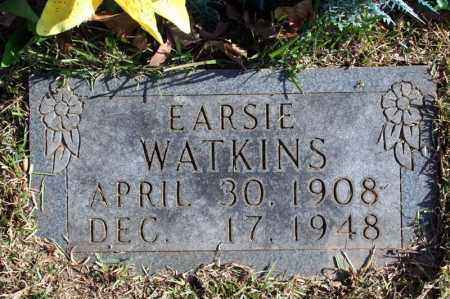 WATKINS, EARSIE - Searcy County, Arkansas   EARSIE WATKINS - Arkansas Gravestone Photos