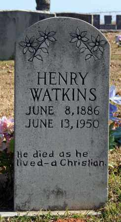 WATKINS, HENRY - Searcy County, Arkansas | HENRY WATKINS - Arkansas Gravestone Photos