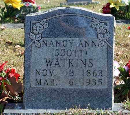 WATKINS, NANCY ANN - Searcy County, Arkansas   NANCY ANN WATKINS - Arkansas Gravestone Photos
