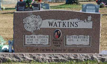 "WATKINS, RUTHERFORD ""RUDY"" - Searcy County, Arkansas | RUTHERFORD ""RUDY"" WATKINS - Arkansas Gravestone Photos"