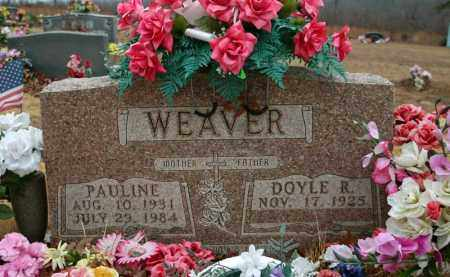 WEAVER, DOYLE RAY - Searcy County, Arkansas | DOYLE RAY WEAVER - Arkansas Gravestone Photos