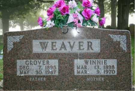 WEAVER, WILLIAM GROVER - Searcy County, Arkansas | WILLIAM GROVER WEAVER - Arkansas Gravestone Photos