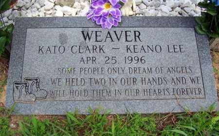 WEAVER, KEANO LEE - Searcy County, Arkansas | KEANO LEE WEAVER - Arkansas Gravestone Photos