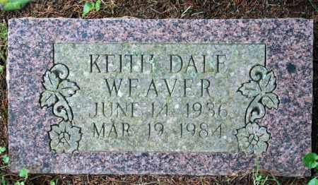 WEAVER, KEITH DALE - Searcy County, Arkansas   KEITH DALE WEAVER - Arkansas Gravestone Photos