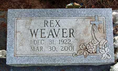 WEAVER, THOMAS REX - Searcy County, Arkansas | THOMAS REX WEAVER - Arkansas Gravestone Photos