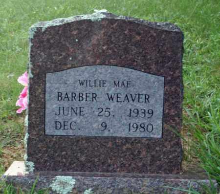 WEAVER, WILLIE MAE - Searcy County, Arkansas   WILLIE MAE WEAVER - Arkansas Gravestone Photos