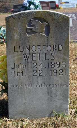 WELLS, LUNCEFORD - Searcy County, Arkansas | LUNCEFORD WELLS - Arkansas Gravestone Photos
