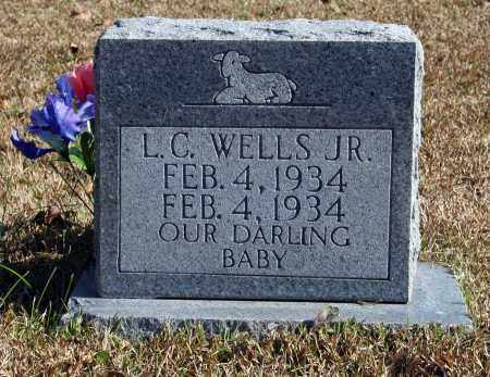 WELLS, JR, L.C. - Searcy County, Arkansas | L.C. WELLS, JR - Arkansas Gravestone Photos