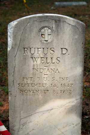 WELLS (VETERAN), RUFUS D - Searcy County, Arkansas | RUFUS D WELLS (VETERAN) - Arkansas Gravestone Photos