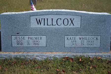 WHILLOCK WILLCOX, KATE - Searcy County, Arkansas | KATE WHILLOCK WILLCOX - Arkansas Gravestone Photos