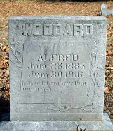 WOODARD, ALFRED - Searcy County, Arkansas   ALFRED WOODARD - Arkansas Gravestone Photos