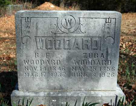 WOODARD, ZUBA - Searcy County, Arkansas | ZUBA WOODARD - Arkansas Gravestone Photos