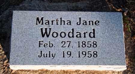 WOODARD, MARTHA JANE (TAYLOR) - Searcy County, Arkansas | MARTHA JANE (TAYLOR) WOODARD - Arkansas Gravestone Photos