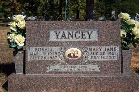 YANCEY, ROVELL - Searcy County, Arkansas | ROVELL YANCEY - Arkansas Gravestone Photos