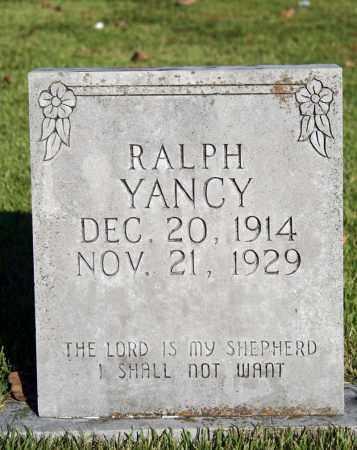 YANCY, RALPH - Searcy County, Arkansas   RALPH YANCY - Arkansas Gravestone Photos