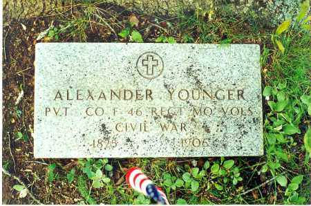 YOUNGER  (VETERAN UNION), ALEXANDER - Searcy County, Arkansas | ALEXANDER YOUNGER  (VETERAN UNION) - Arkansas Gravestone Photos