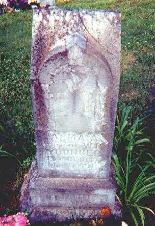 RAINBOLT YOUNGER, ALMA ARTELIA - Searcy County, Arkansas | ALMA ARTELIA RAINBOLT YOUNGER - Arkansas Gravestone Photos