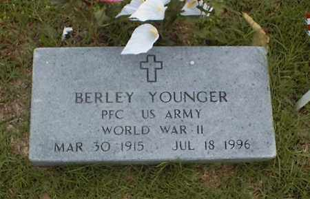 YOUNGER  (VETERAN  WWII), BERLEY - Searcy County, Arkansas   BERLEY YOUNGER  (VETERAN  WWII) - Arkansas Gravestone Photos