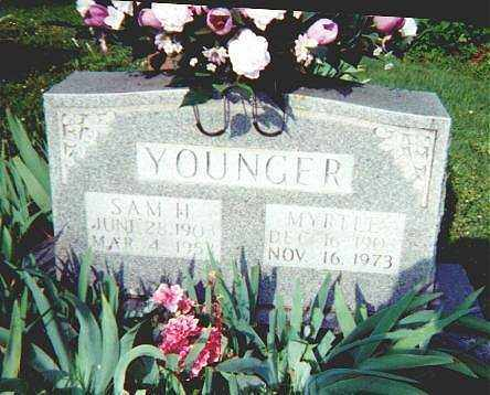YOUNGER, MYRTLE - Searcy County, Arkansas | MYRTLE YOUNGER - Arkansas Gravestone Photos