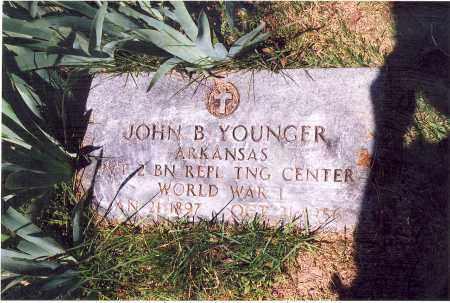 YOUNGER  (VETERAN WWI), JOHN BIRD - Searcy County, Arkansas | JOHN BIRD YOUNGER  (VETERAN WWI) - Arkansas Gravestone Photos