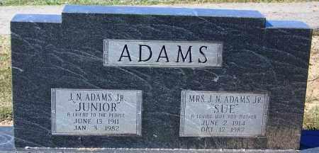 ADAMS, JR., JAMES NEWTON - Sebastian County, Arkansas | JAMES NEWTON ADAMS, JR. - Arkansas Gravestone Photos