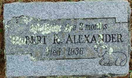ALEXANDER, ROBERT R - Sebastian County, Arkansas | ROBERT R ALEXANDER - Arkansas Gravestone Photos
