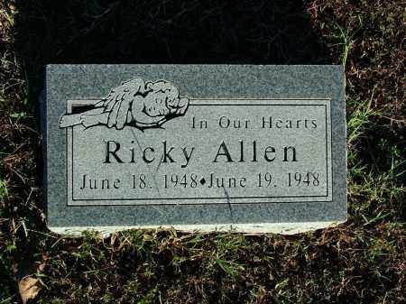 ALLEN, RICKY - Sebastian County, Arkansas | RICKY ALLEN - Arkansas Gravestone Photos