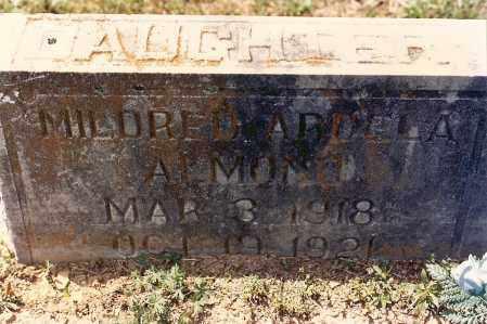 ALMOND, MILDRED - Sebastian County, Arkansas | MILDRED ALMOND - Arkansas Gravestone Photos