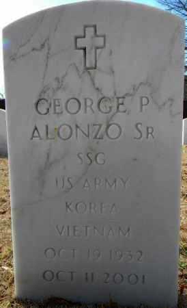 ALONZO, SR (VETERAN 2 WARS), GEORGE P - Sebastian County, Arkansas | GEORGE P ALONZO, SR (VETERAN 2 WARS) - Arkansas Gravestone Photos